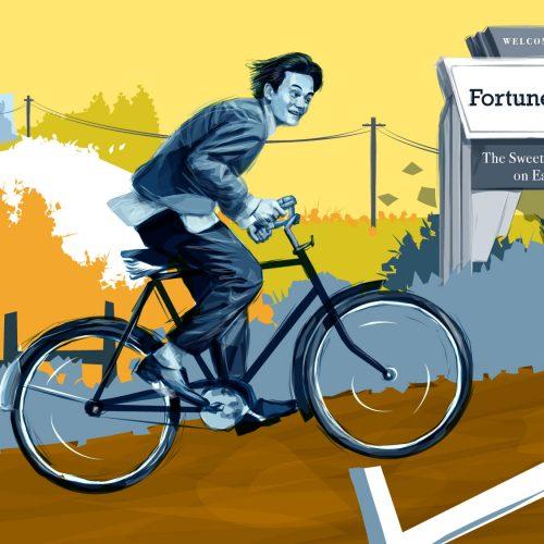 Alberta Theatre Projects Fortune Falls Bike