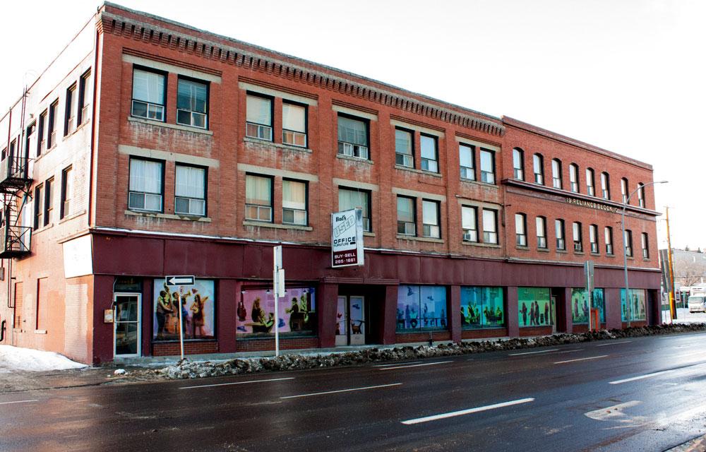 Calgary Armour Block Full Window Art