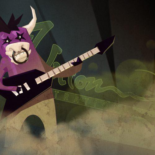Purple-KISS-Cow