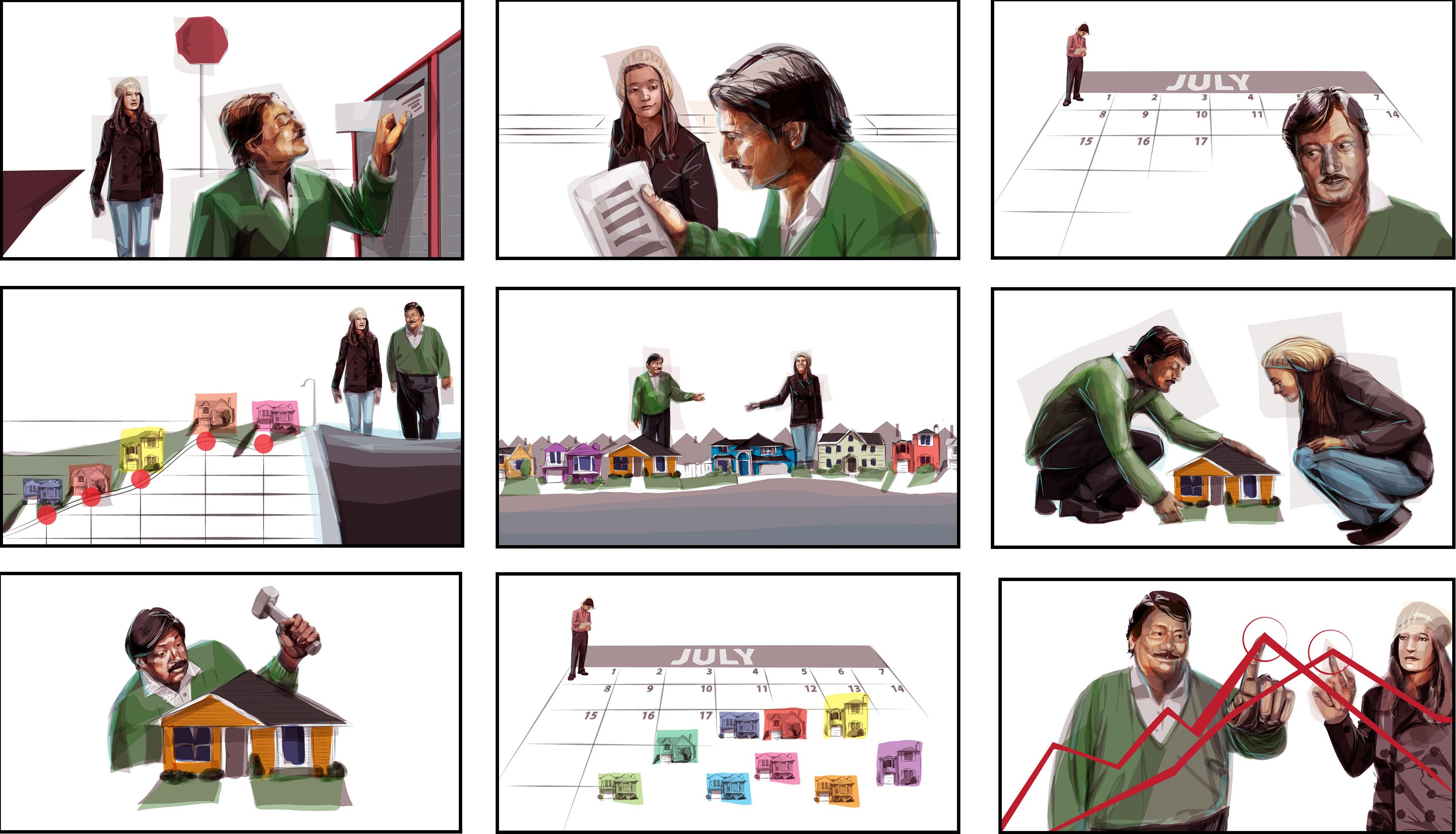 Storyboards Financials Calgary