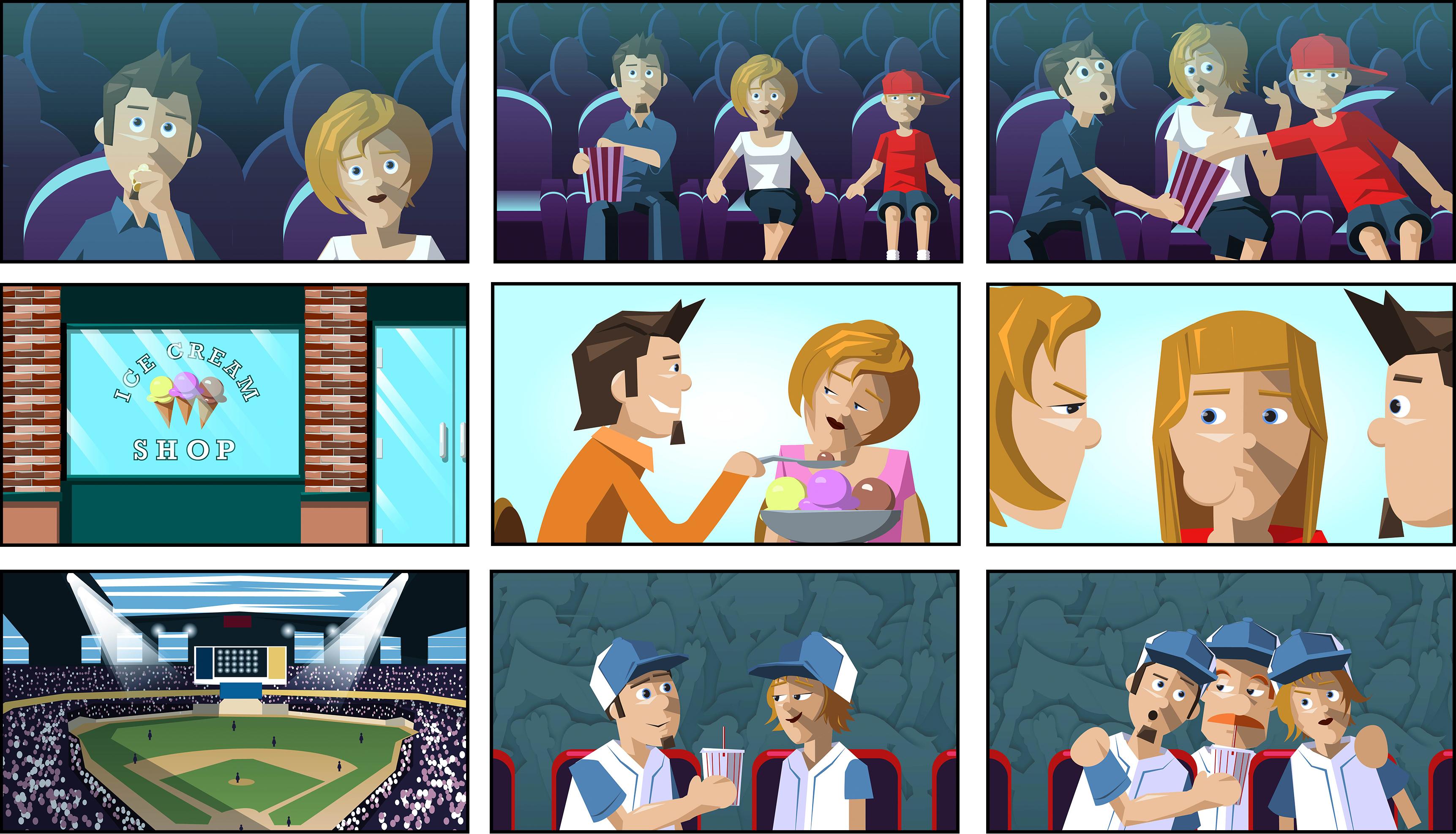 Storyboards Folio Dynamix