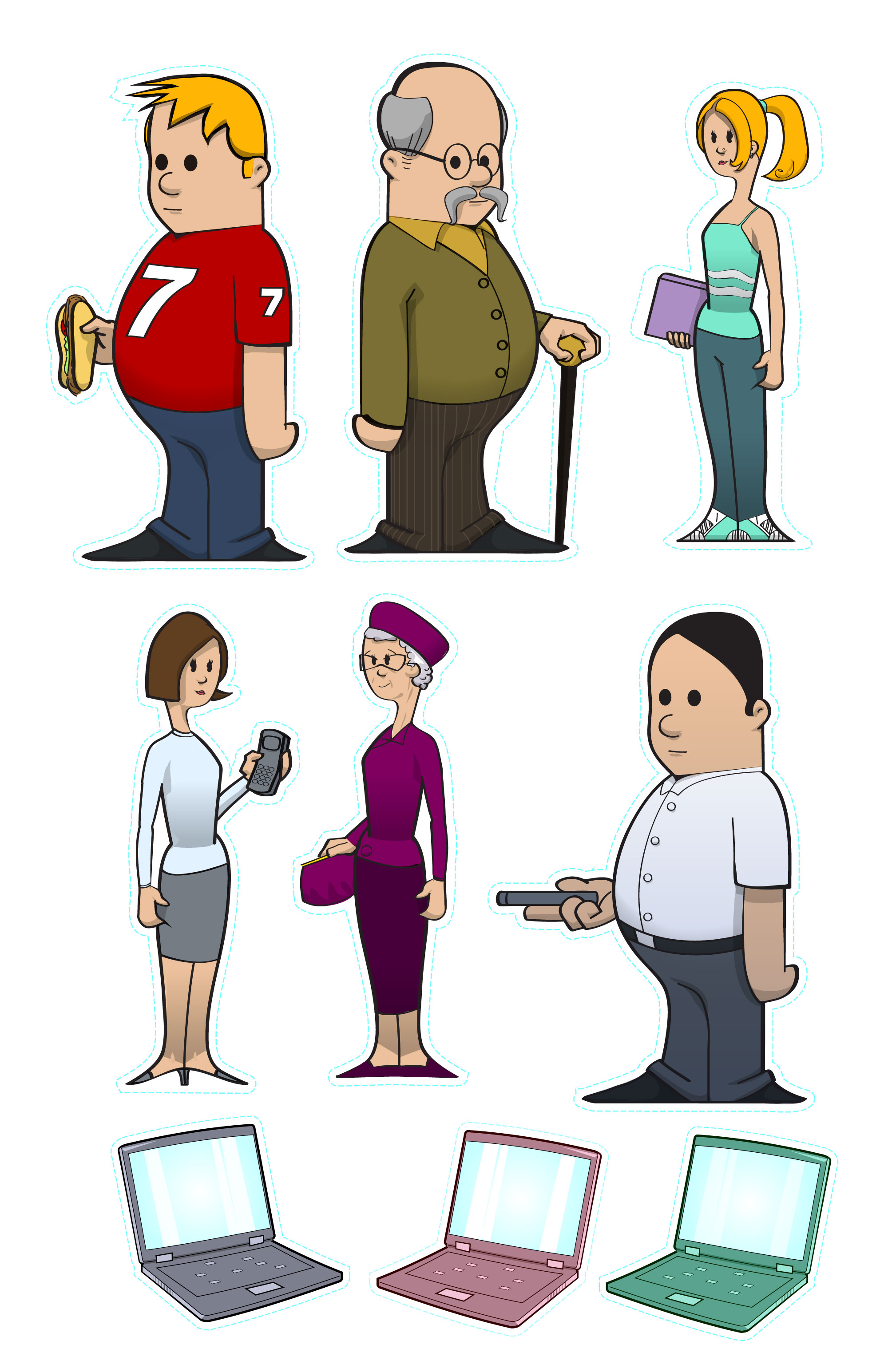 Telus e-Learning Characters and Computers