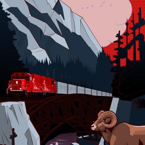 The Union Illustration Train